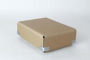 concrete craft (コンクリートクラフト)BENT クラフト A6 W12,5 × D16,8 × H6cm パスコ ボックス ステーショナリー 機能性 収納雑貨 Craft One