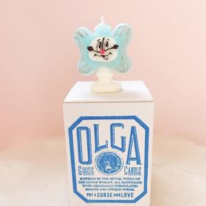 OLGA-goosecandle- CLOCK/置き時計