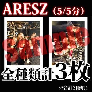 【チェキ・全種類計3枚】ARESZ(5/5分)