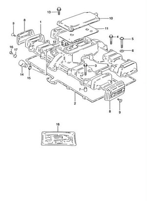 1-1 : COVER CYLINDER HEAD