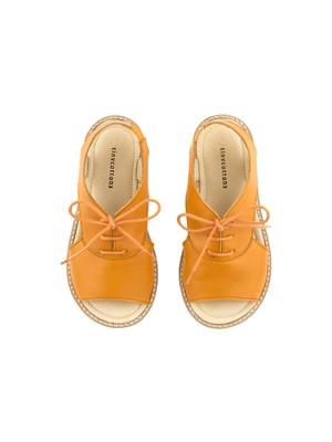 tinycottons / crepe lace sandals[brick]