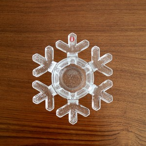 [SOLD OUT]【お客様ご予約分】Iittala イッタラ / Snow Crystal スノークリスタル キャンドルホルダー