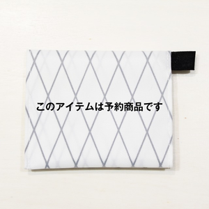 ★予約販売:決済から約二ヶ月で出荷★ Beautiful money Wallet X-Pac WHITE/model.Yukari