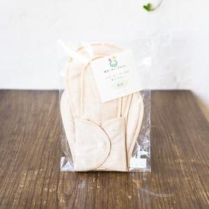 布ナプキン夜用 茶 (平織パッド1枚付) オーガニックコットン100%のスナップ付布ナプキン。夜用ロングタイプです