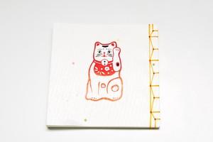 日記帳 招き猫
