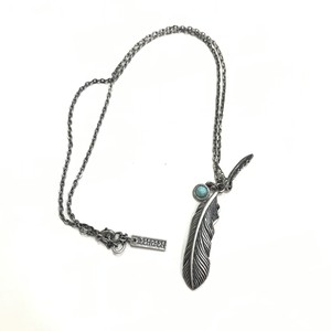 Zephyren METAL NECKLACE -FEATHER-  ゼファレン