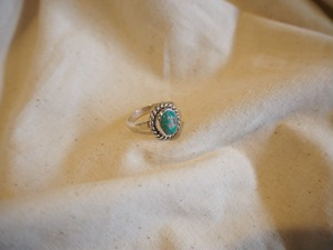 <vintage silver925>turquoise ring(F)