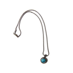 deaf breed/デフブリード Turquoise necklace