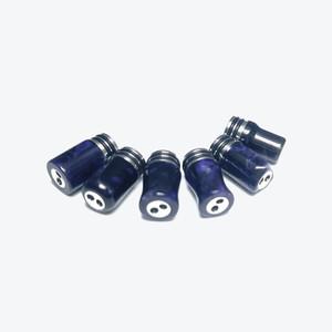 【抽選販売】2つ穴GRAM樹脂・黒紫シルバーラメ