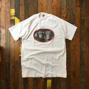 90's Deadstock / Ylla / Animal photo tee shirt