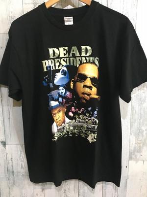 JAY-Z DEADPRESIDNTS Tシャツ Lサイズ hiphop ヒップホップ ラッパー