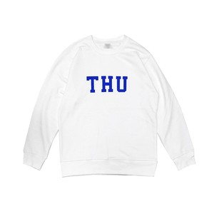 THURSDAY - THU CREW NECK SWEAT (White)