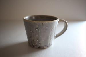 豊田雅代|マグカップ 水色