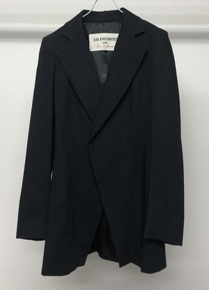 1990s DIRK BIKKEMBERGS  CROSS FRONT TAILORED JACKET
