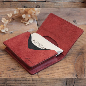 Name Card Case / BRICK RED (プエブロ)