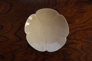 前田麻美 灰琥珀釉芙蓉5寸皿