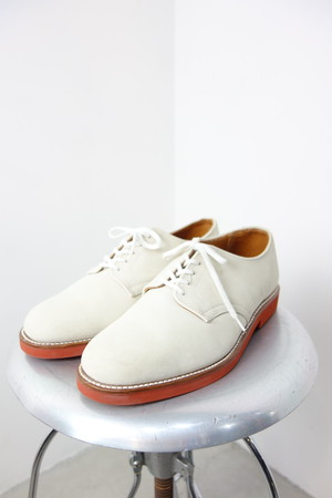 "80's "" Walk over ""  White nubuck shoes"