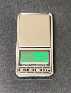 デジタル電子スケール 0.00~200.00g用(0.01単位)