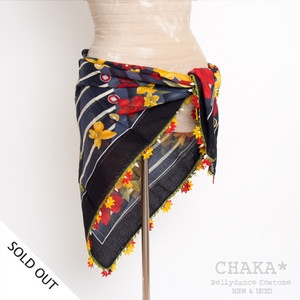 Oya Scarf/Red×Yellow