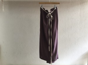 "30%OFF whowaht "" CHIFFON GATHER SKIRT "" VIOLET"