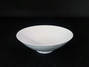井上祐希作】釉滴銘々皿 (中)WHITE