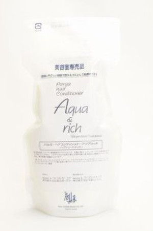 レラ・パルガ ヘアケアトリートメントコンディショナー アクア&リッチ 500g (つめかえ用)