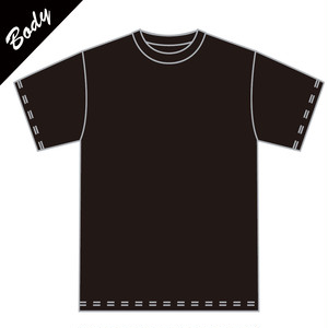 【BODY】カスタム用Tシャツ