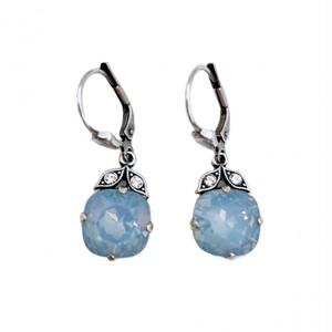 ピアス スズラン ブルー オパール KRiKOR ドイツ製 Pierce Lily Blue Opal