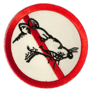 STAG magazine No Rats Patch