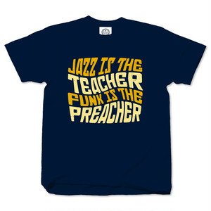 JAZZ IS THE TEACHER navy