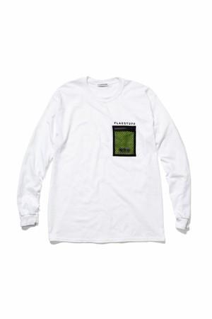 L/S T-SHIRTS  WHITE  18AW-FS×OD-05