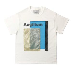 Aegilium Print T-shirt White