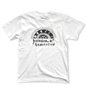 YOUNGER GENERATION T-shirt -Night & Day-