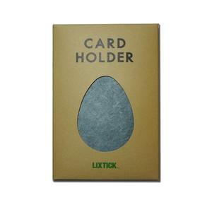 Lixtick Paper Card Holder ~GREY~