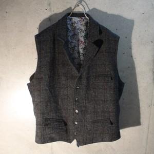 Harris Tweed Wool Vest