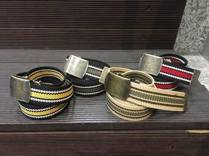 Nobrand|Line Long Belt 【re:stock】