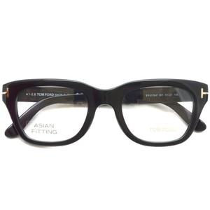 トムフォード TOM FORD / TF5178F アジアンフィット / 001 Black ブラック  黒縁 メガネ フレーム