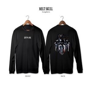 Melt Skull Longsleeve / Black