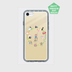 【HappyUnbirthday!1st】iPhone7/8/Xミラーケース