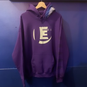 E LOGO hoodie Special (purple)
