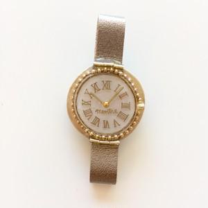 キャトルシス 腕時計ブローチ / ゴールド