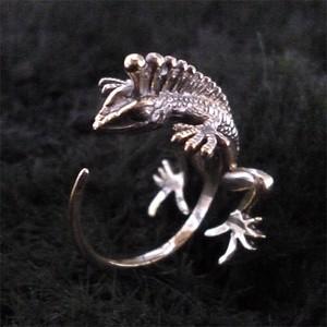 angler lizard(silver925 白仕上げver)