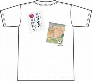 上毛かるた×KING OF JMKオリジナルTシャツ【白・り】
