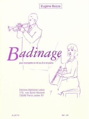 ボザ:Badinage/トランペット・ピアノ