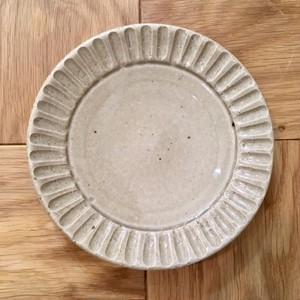 土本製陶所 しのぎケーキ皿