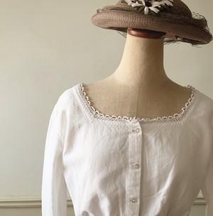 antique cotton chemise blouse(小さいサイズ)