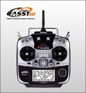 フタバ 送受信機セット 14SG 14ch-2.4GHz FASSTestモデル (ヘリ用)