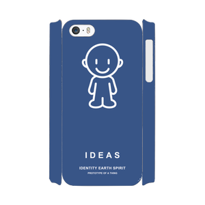 IDEAS/iPhone5/5s/SEケース 801-ネイビー