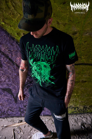 DavidJorquera×MarrionApparel Tee (Black×Green)