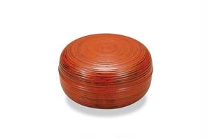 KE07-005 栓6.0 ロクロ筋菓子器 根来